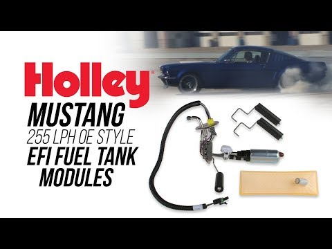 Holley Ford Mustang 255 LPH OE Style  EFI Fuel Tank Modules