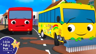 Different Types Of BUSES - Bus Tidying Up Song | Little Baby Bum - Brand New Nursery Rhymes for Kids
