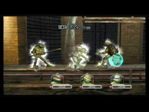 teenage mutant ninja turtles smash up wii mission 2