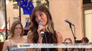 Christina Perri ft  Jason Mraz ,HD, Distance,Live, Today Show  2012  ,HD 720p