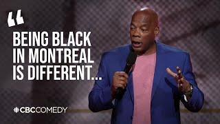 Being black in Canada versus America   Alonzo Bodden