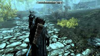 Skyrim - How to toggle the free fly cam and use it properly (Gameplay Commentary)