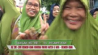 PAWAI HARLAH NU KE 94 MWCU GEBANG. 16 Feb 2020