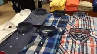 Женская и мужская (с 7:30 мин.) одежда известных брендов в  США в магазине Macy