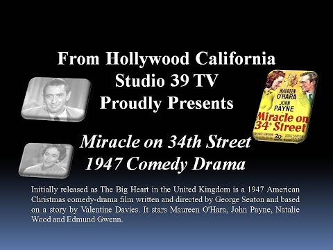 Studio 39 TV: The Miracle on 34th 1955