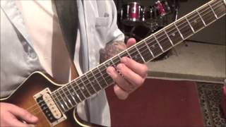 Chevelle - Take Out The Gunman - CVT Guitar Lesson by Mike Gross(part 2)