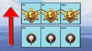 Tips & Tricks to get Triple Conqueror in ALL modes | Solo, Duo, Squad | PUBG Mobile