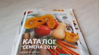 "Обзор каталога "" Семена 2019 "" от Садов России"
