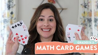 2 Fun Math Games With Playing Cards | Math Games For First Grade