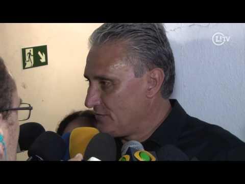 Tite lamenta derrota para o Cruzeiro