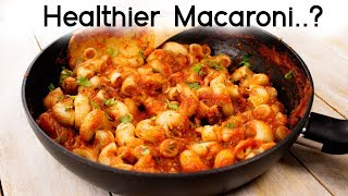 Stuffed Macaroni – Healthier Indian Style Veg Pasta Recipes for Kids Lunch Box – CookingShooking