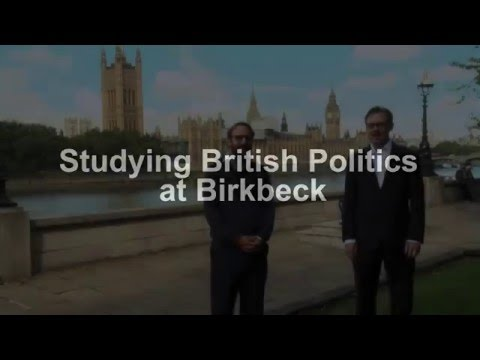 Studying British Politics at Birkbeck