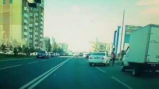 Астана, езда по встречке