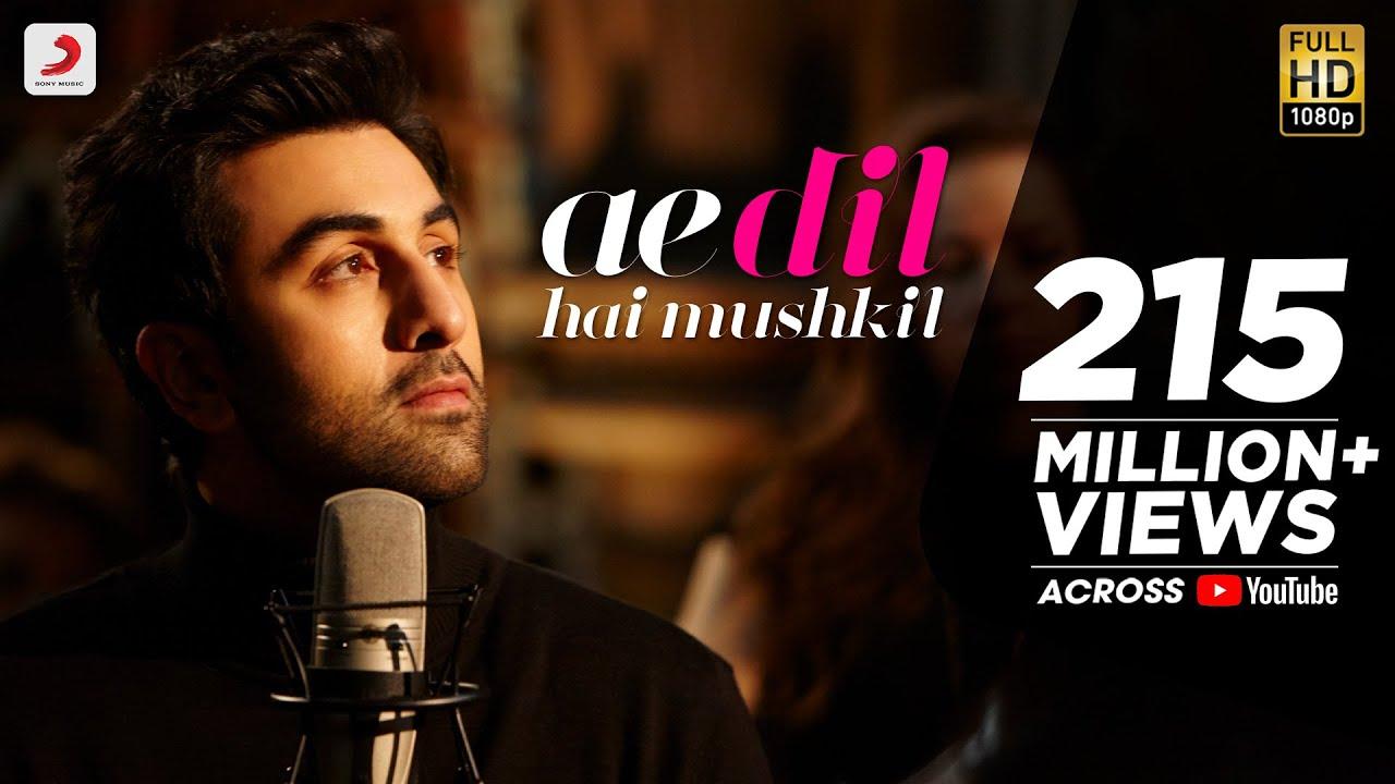 Ae Dil Hai Mushkil - Full Song Video | Karan Johar | Aishwarya, Ranbir, Anushka | Pritam Lyrics - Arijit Singh Lyrics