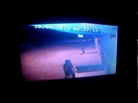 Cotidiano Policial - Imagens do circuito de segurança registra