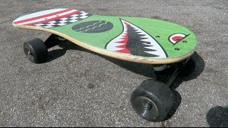 MINI OLD SCHOOL SKATEBOARD!