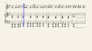 Chandelier Flute Sheet Music