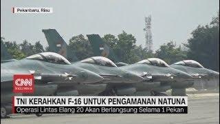 Live streaming 24 jam: https://www.cnnindonesia.com/tv  TNI AU, Pangkalan Udara Roesmin Nurjadin Pekanbaru, mengerahkan empat unit pesawat F-16 untuk pengamanan wilayah udara Perairan Natuna, Kepulauan Riau.  Operasi dengan sandi lintas elang ini turut menurunkan enam penerbang serta 60 personel, menyusul masuknya kapal-kapal asing dari tiongkok di Perairan Natuna.  Ikuti berita terbaru di tahun 2019 dengan kemasan internasional berbahasa Indonesia, dan jangan ketinggalan breaking news 2018 dengan berita terakhir dan live report CNN Indonesia di https://www.cnnindonesia.com/tv dan channel CNN Indonesia di Transvision.   Dalam tahun politik sekarang ini dan menuju pilpres 2019, CNN Indonesia mencanangkan sebagai Layar Pemilu Tepercaya. Kami akan menayangkan konten-konten politik 2019 secara seimbang untuk mengawal demokrasi dan demokratisasi di Indonesia yang kami cintai.   CNN Indonesia tergabung dalam grup Transmedia. Dalam Transmedia, tergabung juga Trans TV, Trans7, Detikcom, Transvision, CNN Indonesia.com dan CNBC Indonesia.   Follow & Mention Twitter kami: @myTranstweet @cnniddaily @cnnidconnected  @cnnidinsight  @cnnindonesia   Like & Follow Facebook: CNN Indonesia  Follow IG:  cnnindonesiatv