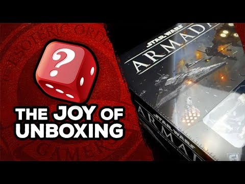 The Joy of Unboxing: Star Wars Armada