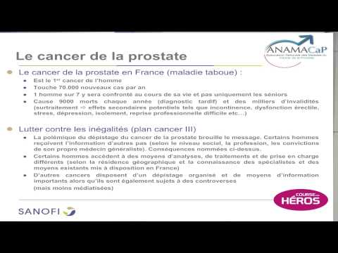 Traitements contre le cancer de la prostate 4 degrés