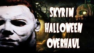 Skyrim Halloween Mods! Huge Halloween Overhaul, Pumpkin Spice Helmet, and More!