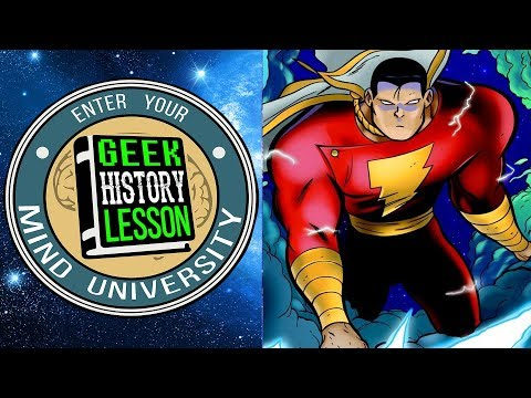 Shazam!: the Monster Society of Evil (Book Club) - Geek History Lesson