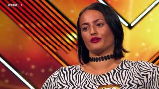 X Factor Denmark 2017 - Aliya does not accept a bit of criticism!