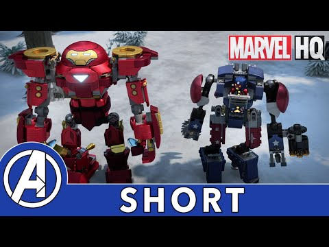 Team Up Trouble | LEGO Marvel Avengers: Climate Conundrum | Wild Weather Part 5