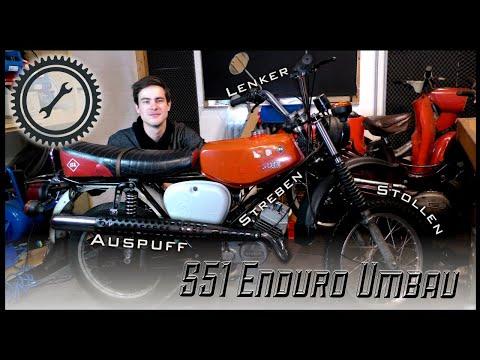 Simson S51 auf Enduro umbauen - Bauteile & Merkmale - Was wird benötigt? - S50 S51 S70 Tutorial