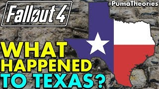 Fallout 4 Theory: What Happened to Texas and the Texas Commonwealth? (Lore and Theory) #PumaTheories