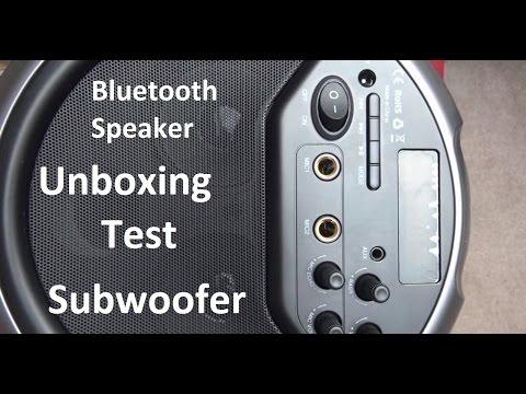 Bluetooth Lautsprecher | Subwoofer | Aukey SK-M17 Unboxing Review Test