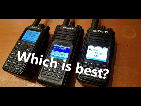 💥 Anytone 868 vs Ailunce HD1 vs Retevis RT3S - Free video
