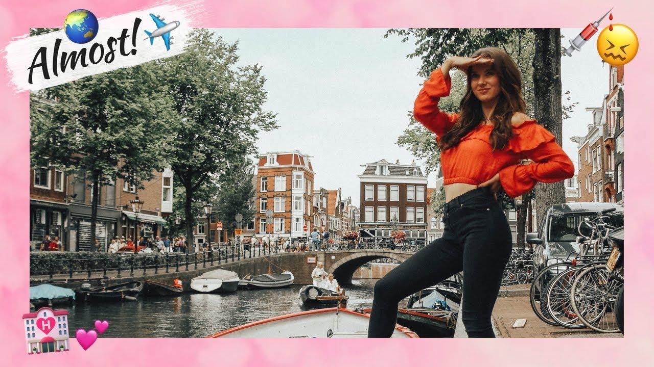 Travel prepping & Amsterdam