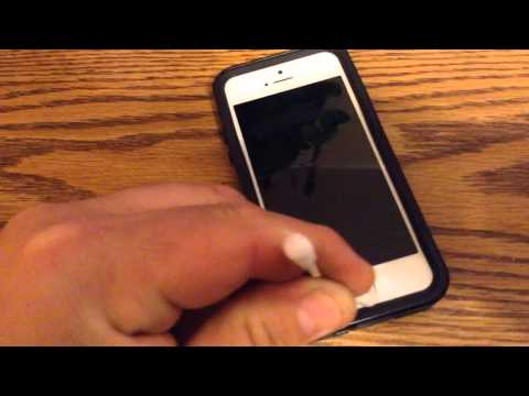 How to get rid of clicky loud home button on iPhone 5s