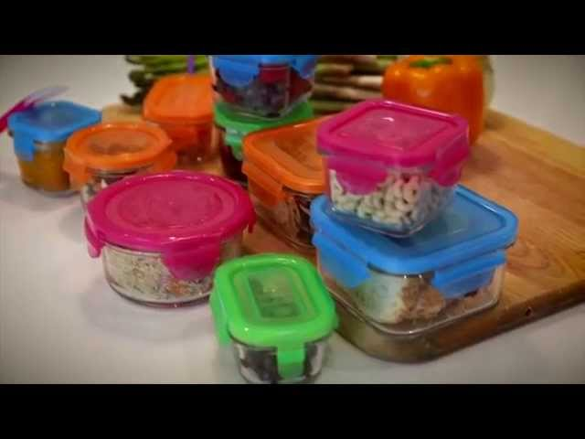 Wean Green Eco-Friendly Glass Containers