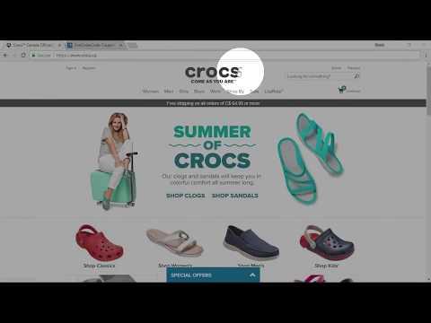 18c24474a0f91 Crocs Canada Coupon Code April 2019