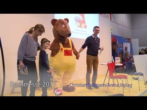 Frankfurter Buchmesse 2017: Der Bücherbär, Christian Seltmann, Anna Ruhe