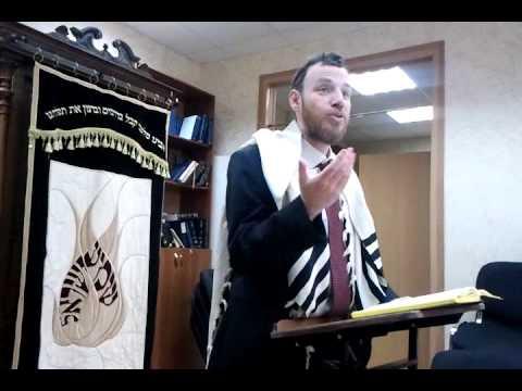 Раскачивание во время молитвы Амида. р Моше Гринберг.