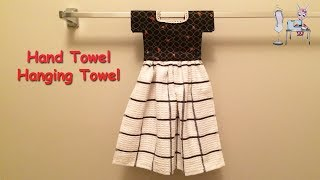 DIY KITCHEN TOWEL | Hanging Hand Towel | Hanging Dish Towel  | Tutorial