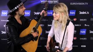 Video Snack: The Common Linnets unplugged performance of  'Calm After The Storm'  (The Netherlands)