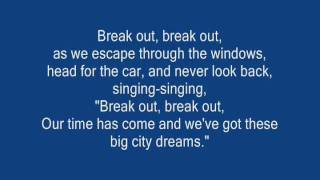 Break out By All Time Low WITH LYRICS