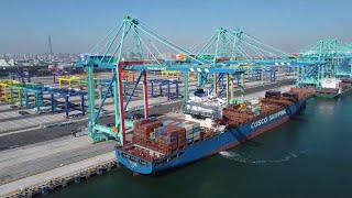 GLOBALink   Otwarcie pierwszego na świecie inteligentnego terminala zeroemisyjnego w chińskim porcie Tianjin