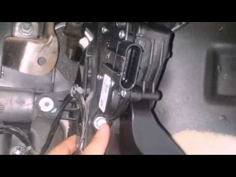 How to replace Accelerator Pedal Position Sensor Yukon Denali and other GM vehicles 07-2013