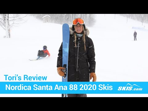 Video: Nordica Santa Anna 88 Skis 2020 21 40