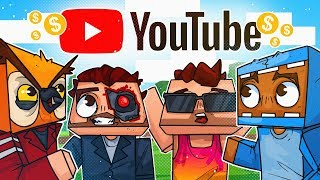 We Broke Into YouTube HQ! The Quest For Ads! - Minecraft!