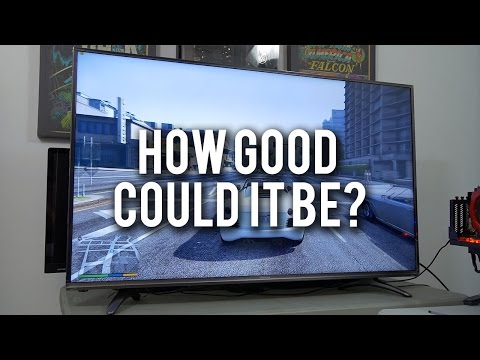 I Bought A $500 4K TV. Verdict? - ft. 2-WAY GTX 1080 SLI