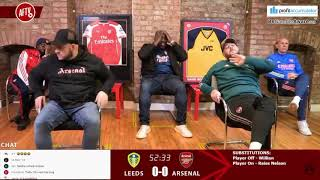 Leeds 0-0 Arsenal | AFTV *Explosive Reaction* To Pepe Red Card