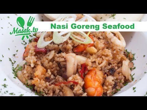 Video Nasi Goreng Seafood | Resep #346