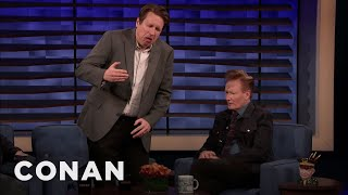 Pete Holmes: Robert De Niro Walks Like Gumby - CONAN on TBS