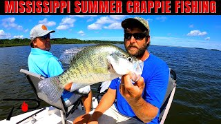 Northern Mississippi Summer Crappie Fishing